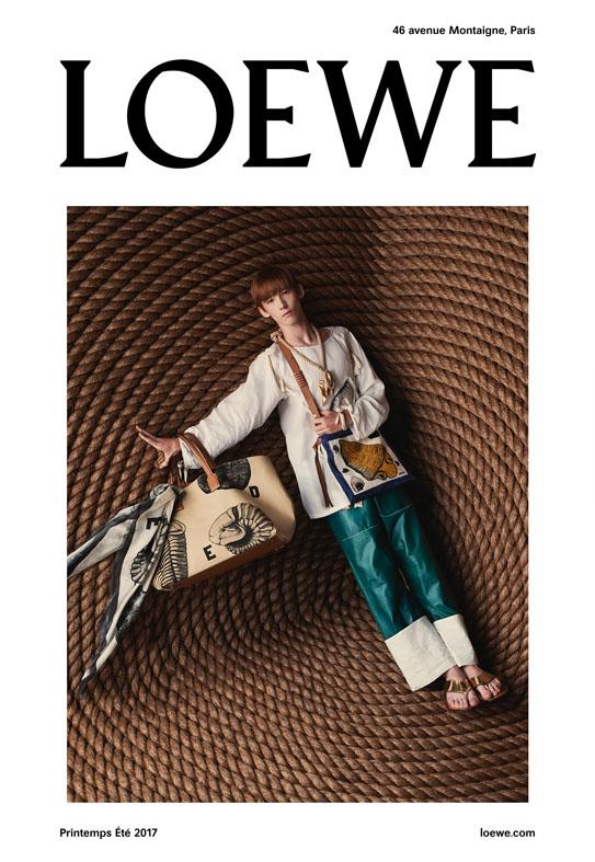 Loewe SS17 Steven Meisel Jackson Wakefield