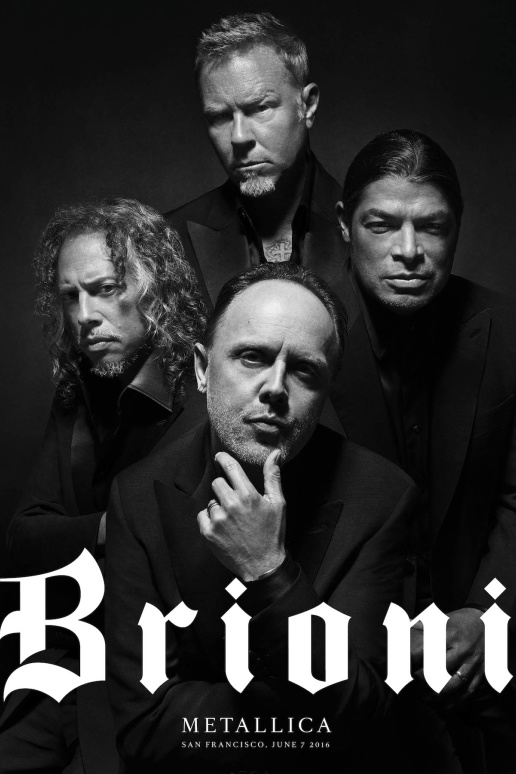 Metallica for Brioni - Justin O'Shea - Black