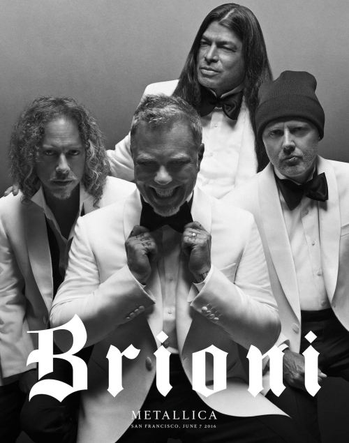 Metallica for Brioni - Justin O'Shea - White