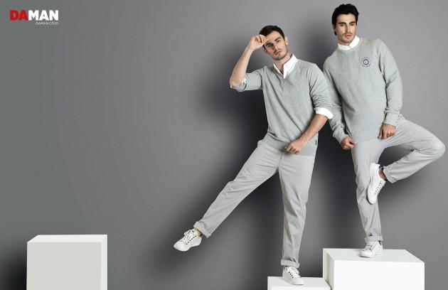 Models Felipe Izing, Rodolfo Rodriguez Silva, Tony Hernandez in Outfits by Ben Sherman_ig done