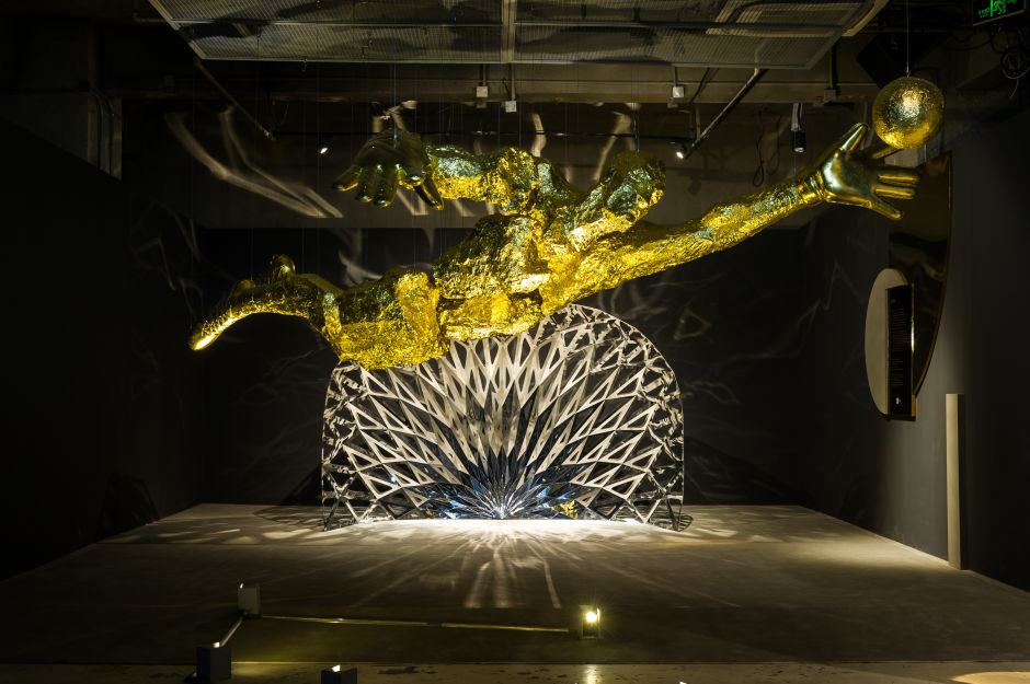 NikeLab x Olivier Rousteing The Circle Exhibition in Shanghai - Defense by WOFO