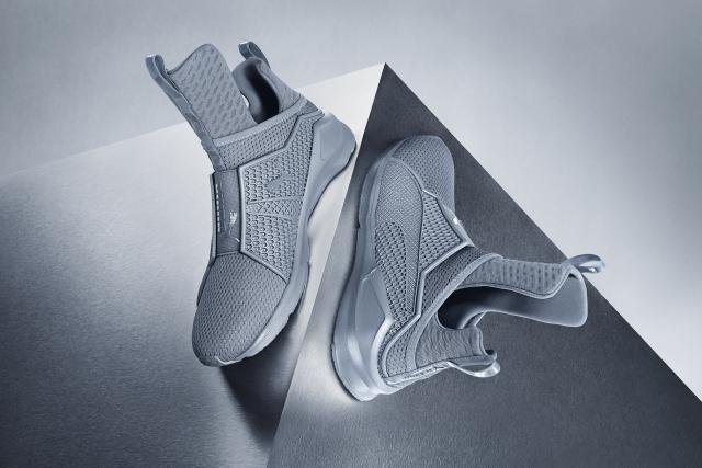 Rihanna Fenty Puma Gray Sneakers