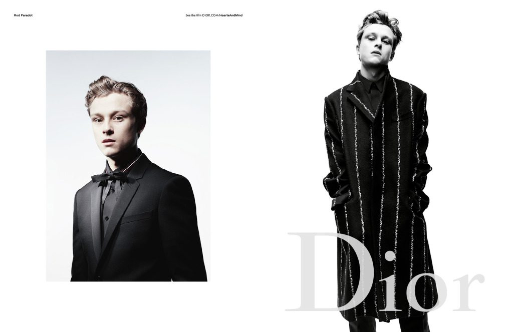 Rod Paradot Dior Homme Campaign