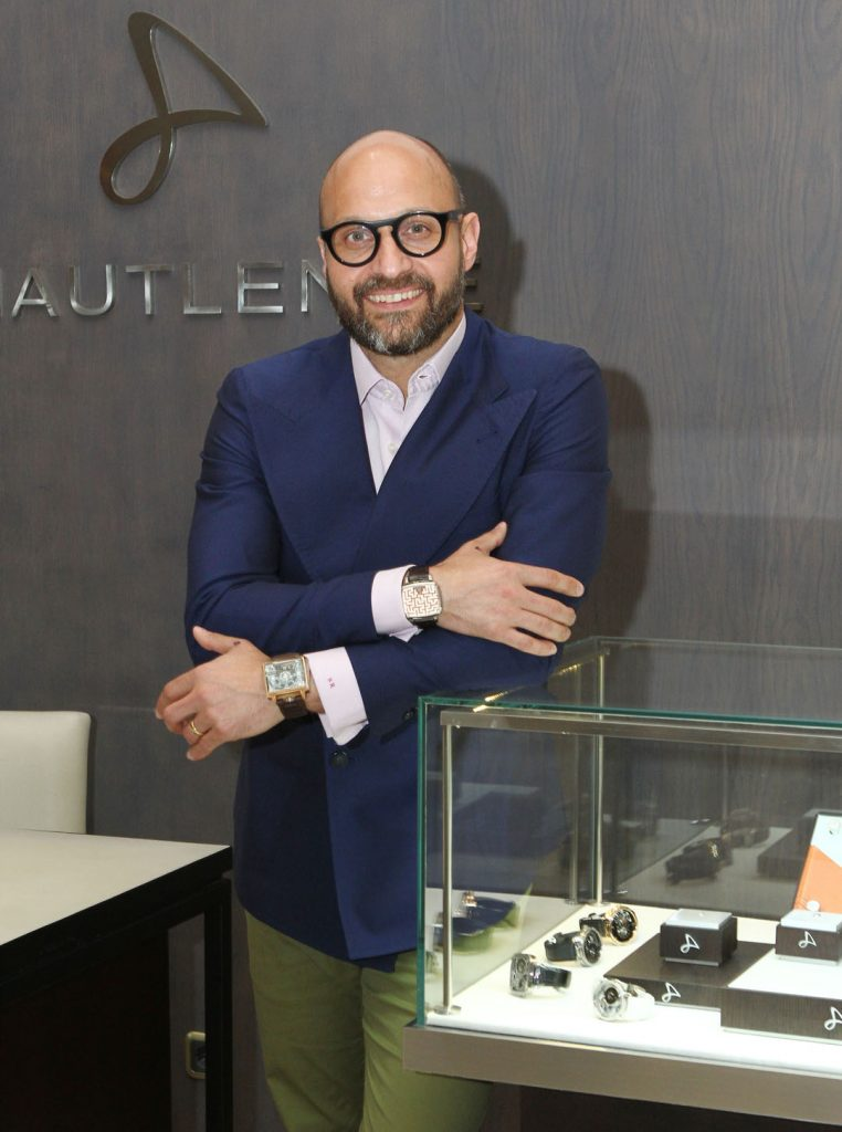 Sandro Reginelli, co-founder and CEO of Hautlence for DA MAN
