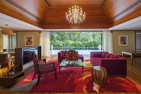 Sofitel Singapore Sentosa Villa du Jardin Living Room