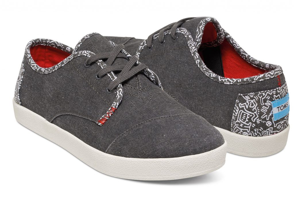 TOMS X Keith Haring Chalkboard Men's Paseos