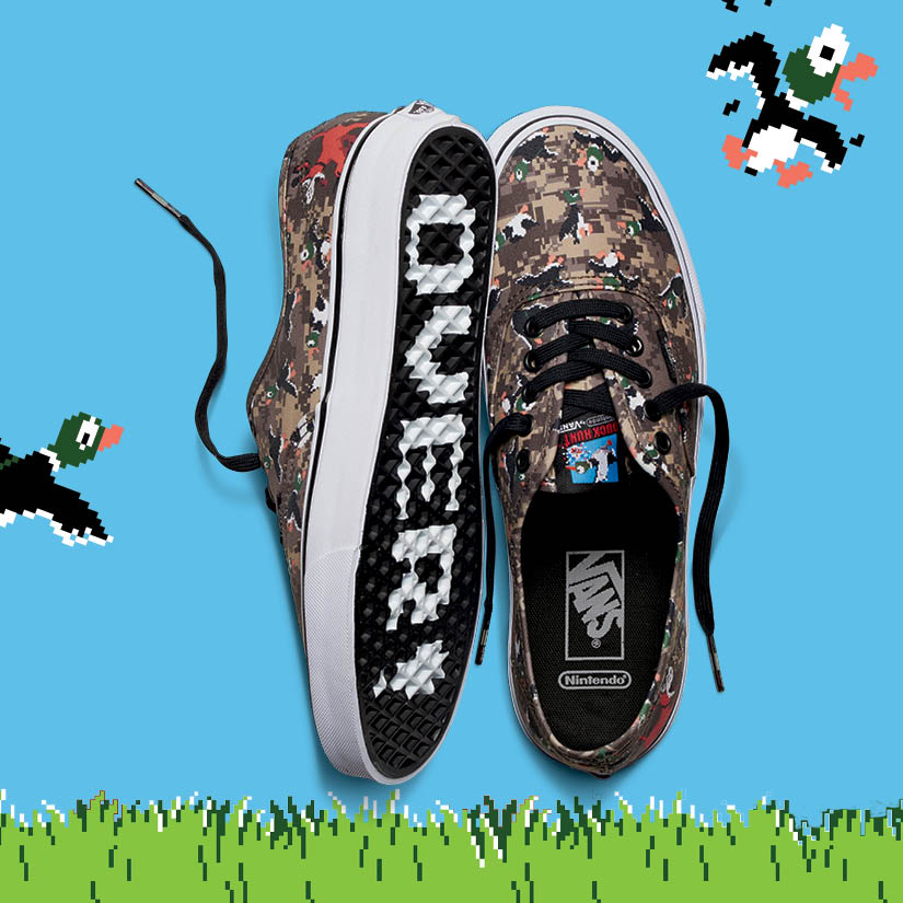 Vans x Nintendo Duck Hunt