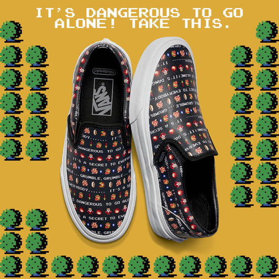 Vans x Nintendo Legend of Zelda-1