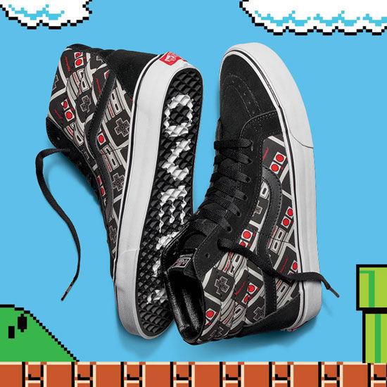 Vans x Nintendo NES Controller Shoes