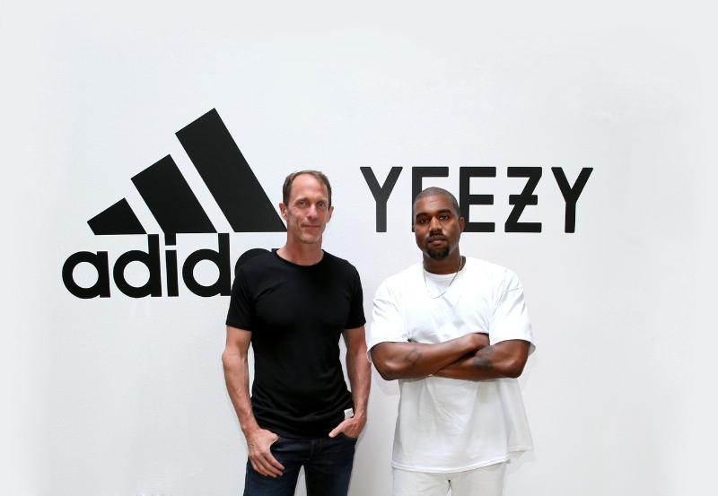 Kanye West and adidas CMO