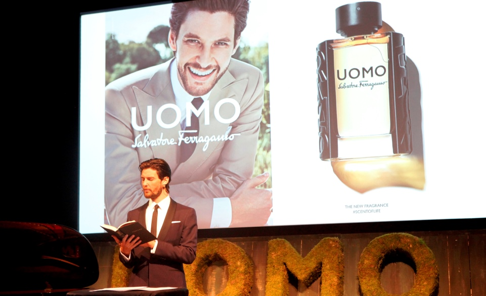 ben barnes at salvatore ferragamo scent of life uomo fragrance launch-2