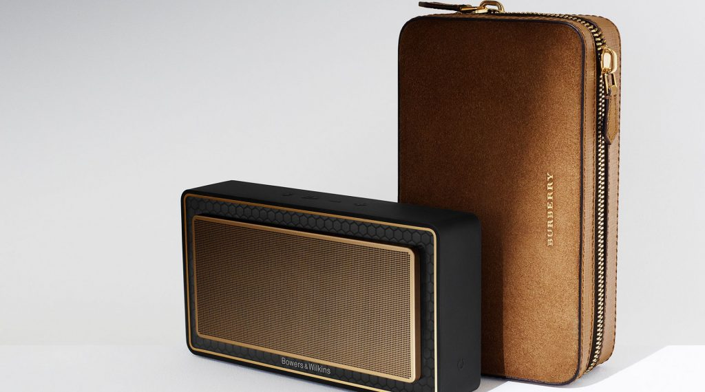 burberry bowers & wilkins t7 gold edition speaker-2