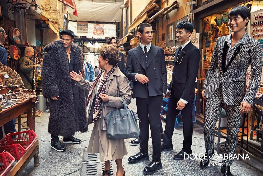 dolce and gabbana fall winter 2016 ad campaign