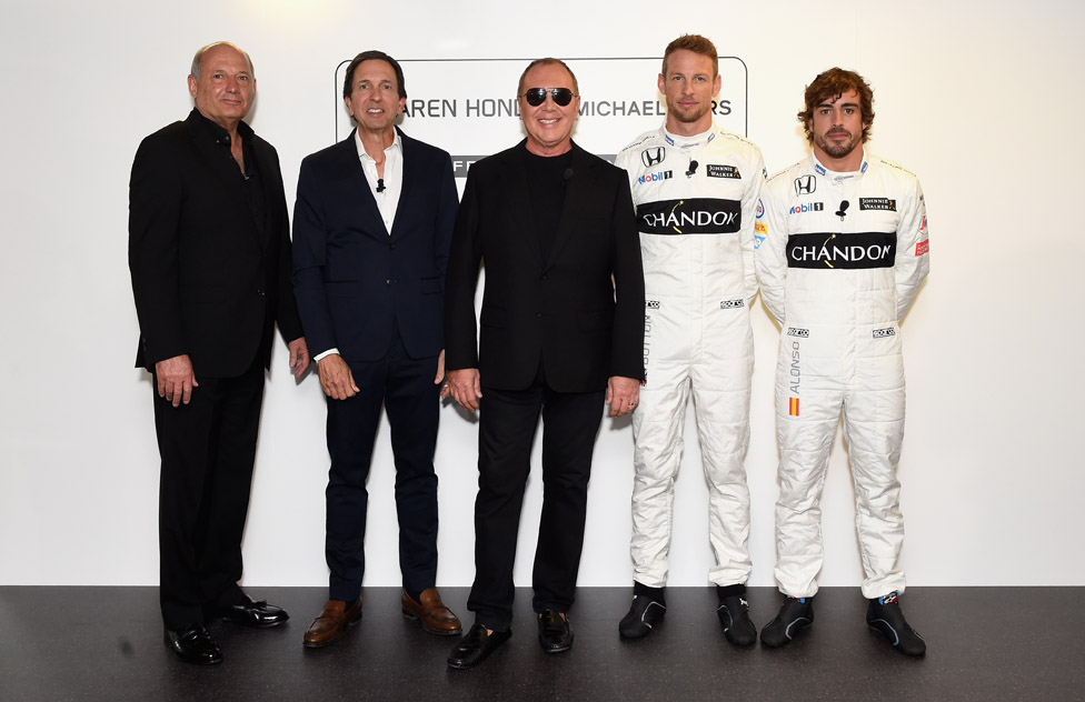 Michael Kors and McLaren-Honda announce EMEA Lifestyle Partnership