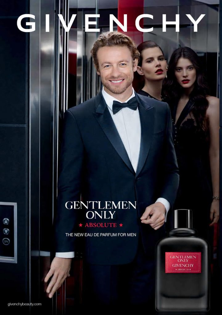 simon baker for givenchy gentlemen only absolute men's fragrance