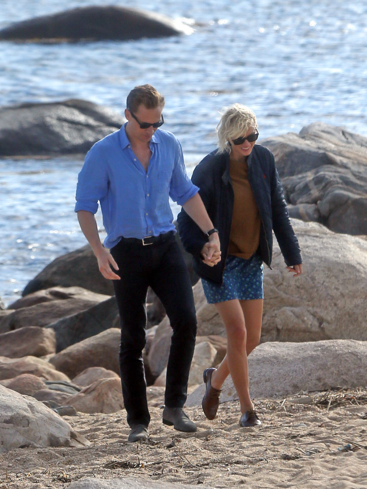 """Looks like Taylor isn't shedding any tears or any """"Bad Blood"""" over recent break up with Calvin Harris."""