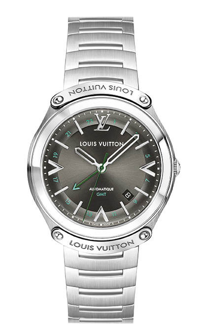 LV Fifty Five  41mm steel bracelet