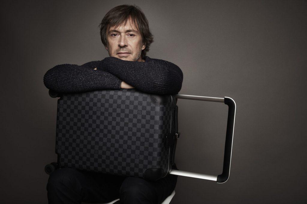 Marc Newson Louis Vuitton Rolling Trunks - Monogram-1