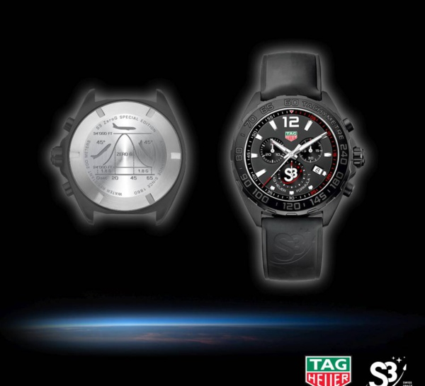 TAG Heuer S3 case back