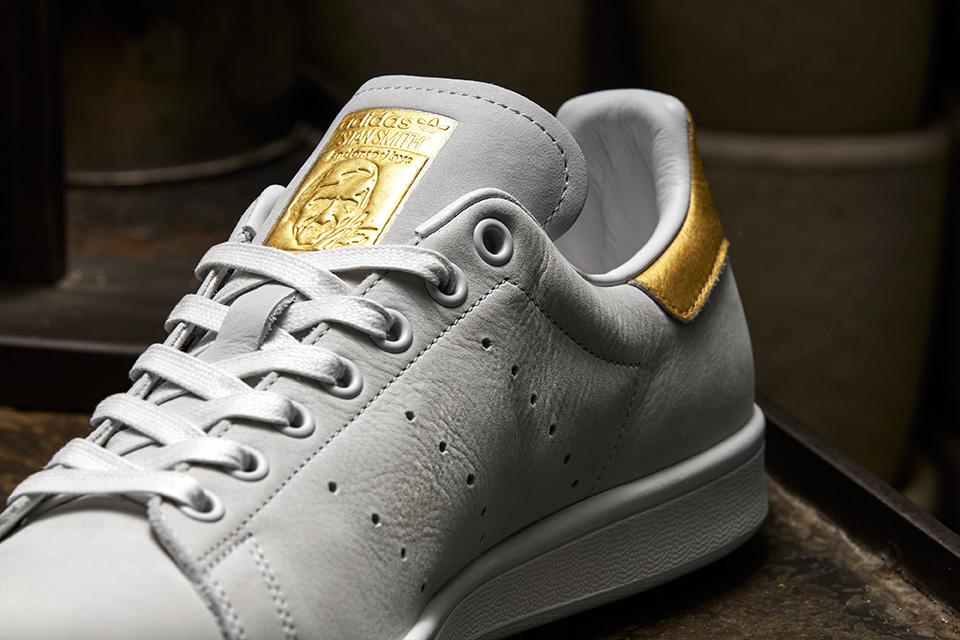adidas stan smith gold-2