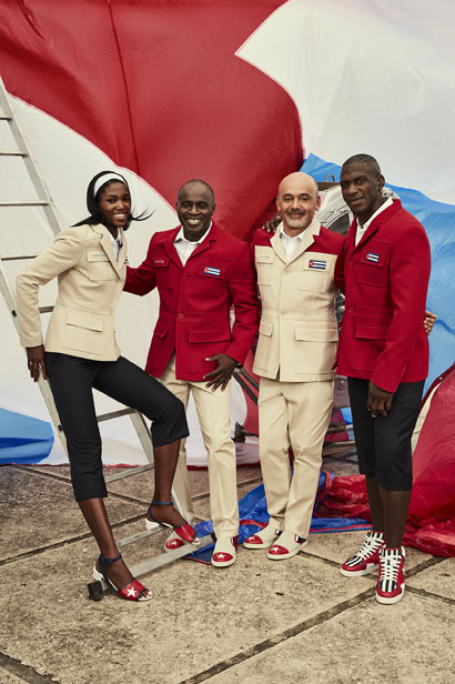 christian louboutin designs for cuba athletes 2016 rio olympics-2