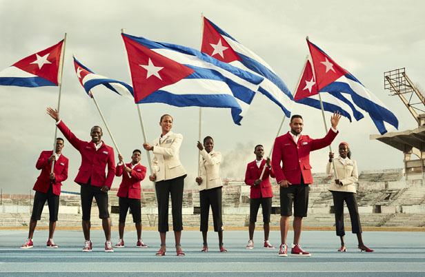 christian louboutin designs for cuba athletes 2016 rio olympics-4