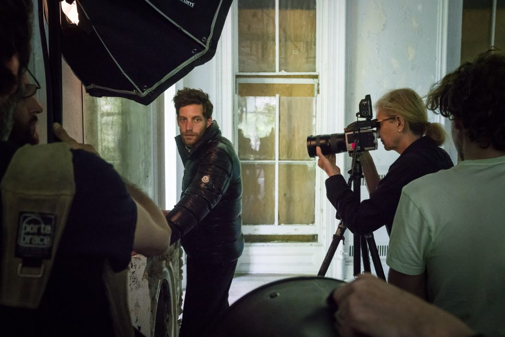 james jagger moncler fall winter 2016 ad campaign behind the scenes annie leibovitz