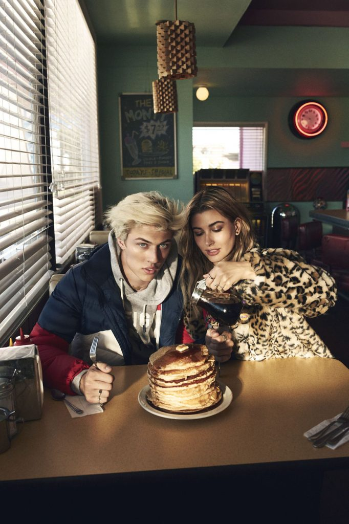 lucky blue smith and hailey baldwin for hilfiger denim fall winter 2016-10-72p