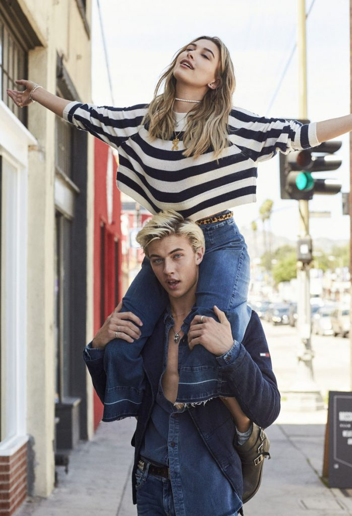 lucky blue smith and hailey baldwin for hilfiger denim fall winter 2016-7-72p