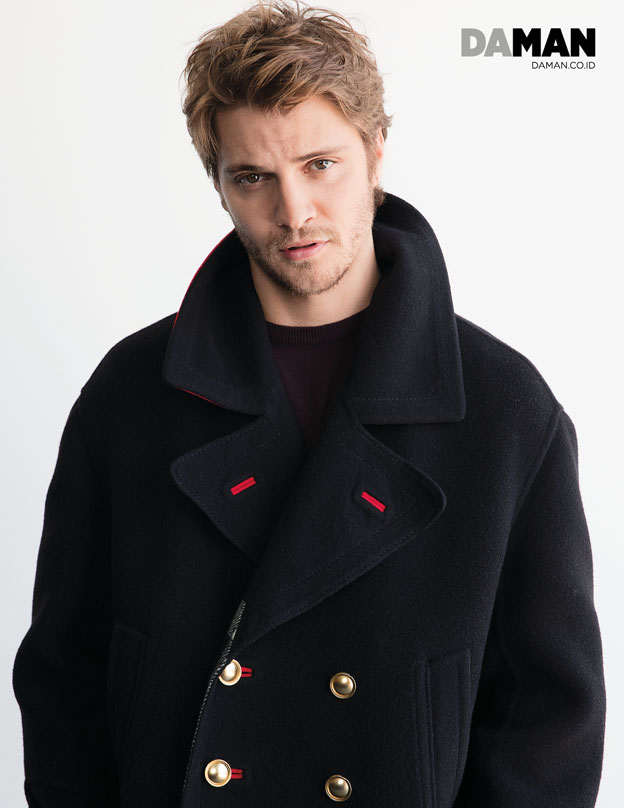 72p_LUKE GRIMES of Magnificent Seven and Fifty Shades of Grey in Outfit by Burberry