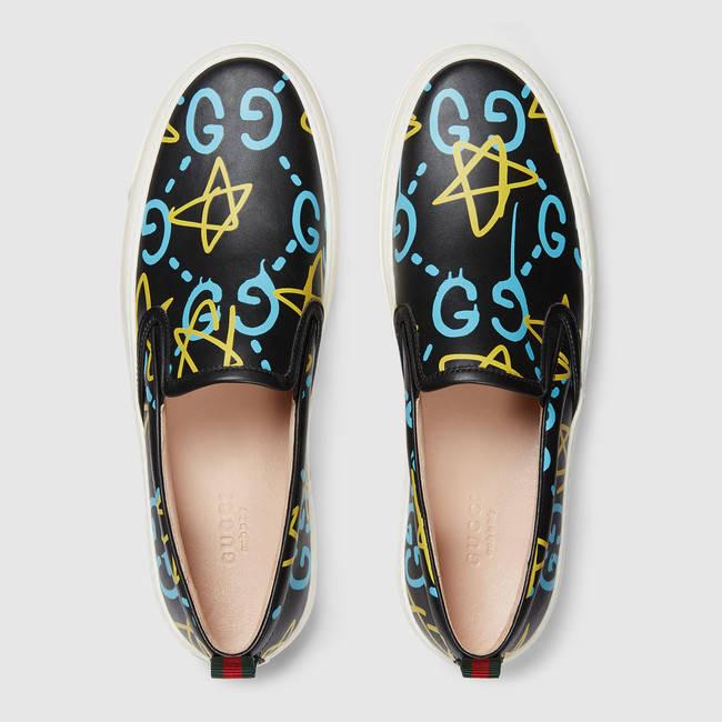 Gucci x GucciGhost Men's slip-on sneaker