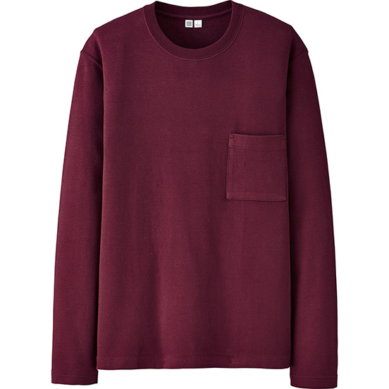 Men U Long-Sleeve Crewneck T-Shirt