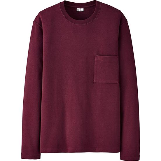 Men U Long-Sleeve Crewneck T-Shirt