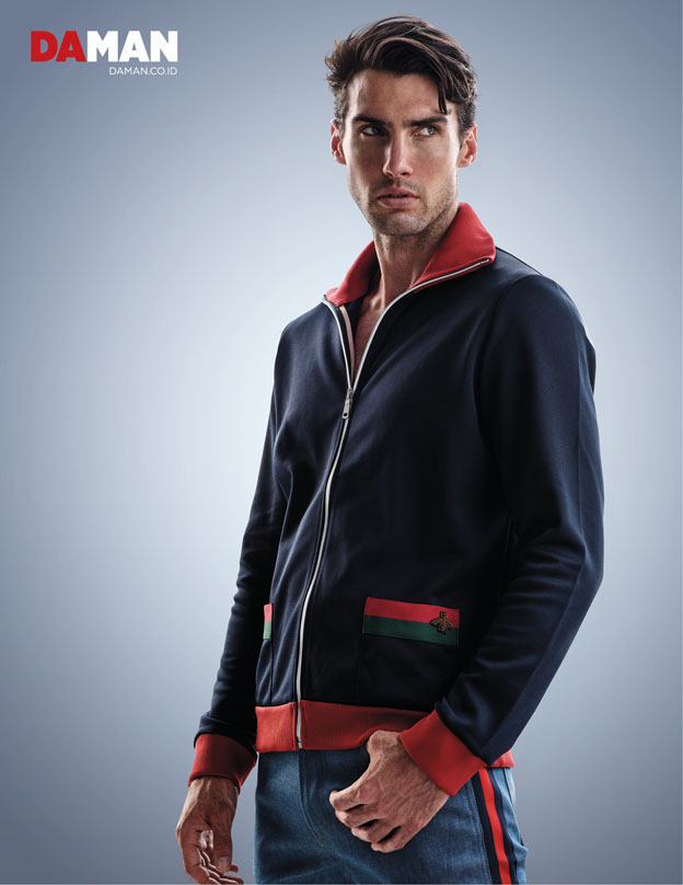 Olympics 2016 Trend Track Jacket by Gucci