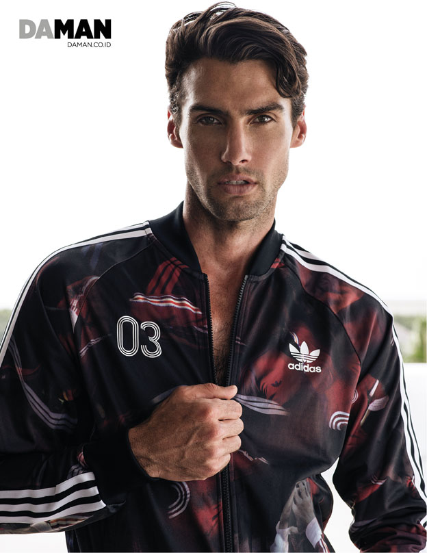 Outtake Mitchell Wick in Jacket by Adidas originals