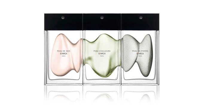 Philippe Starck Fragrances Peau de Soie, Peau de Pierre and Peau D'Ailleurs-2
