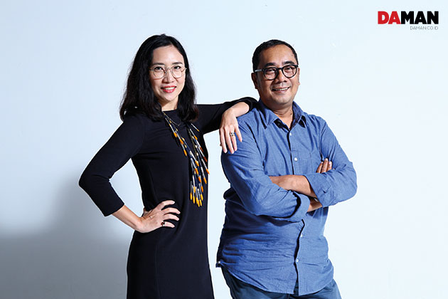 "Vivi Yip and Rifky ""Goro"" Effendy for Bazaar Art Jakarta 2016"