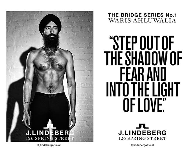 Waris Ahluwalia for J.Lindeberg The Bridge Series-slide