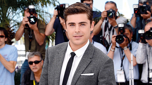 Zac Efron In a check suit by Neil Barrett at the 65th Cannes Film Festival