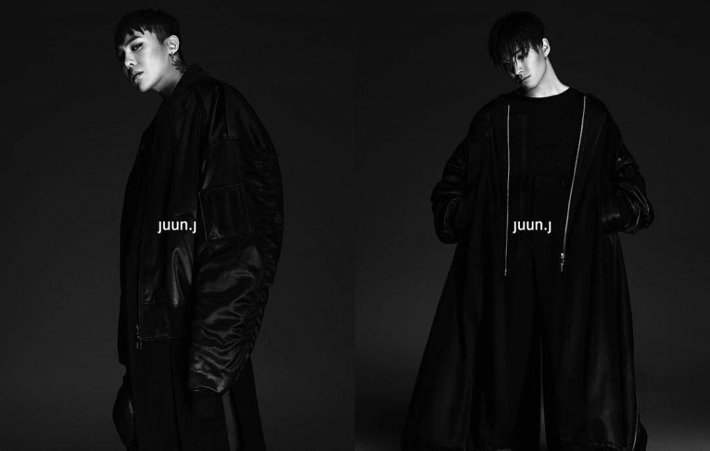 g-dragon and taeyang of big bang for juun.j-6