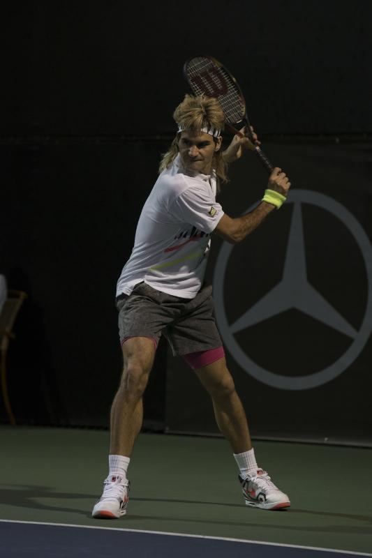 Mercedes-Benz USA Roger Federer