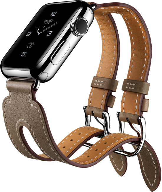 Apple Watch Hermes iPhone 7 - Double Cuff