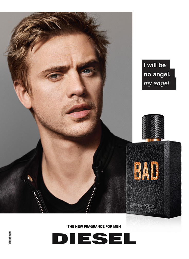 Boyd Holbrook of Narcos for Diesel Bad fragrance campaign-3