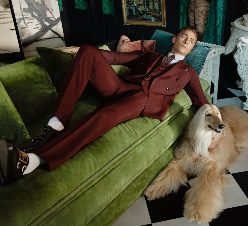 Gucci - Tom Hiddleston 1