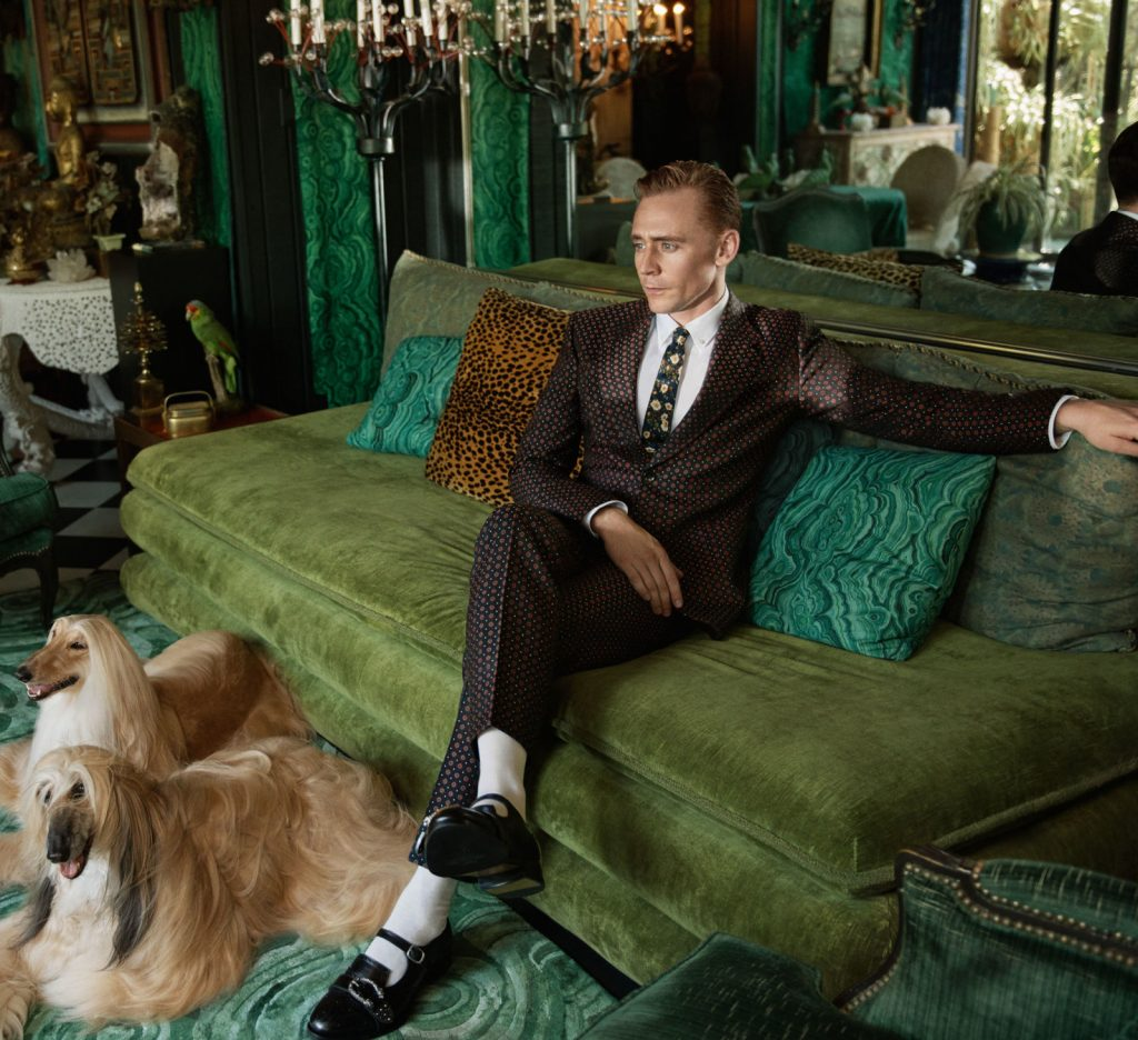 Gucci - Tom Hiddleston 2