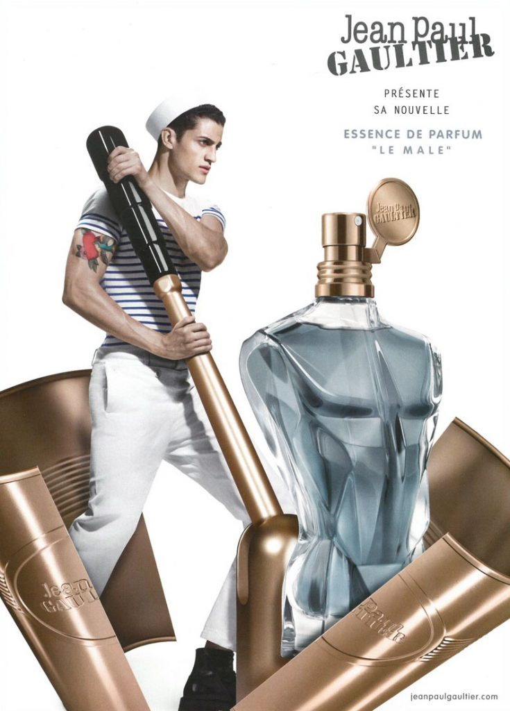 Jean-Paul-Gaultier-2016-Le-Male-Essence-de-Parfum-Fragrance-Campaign