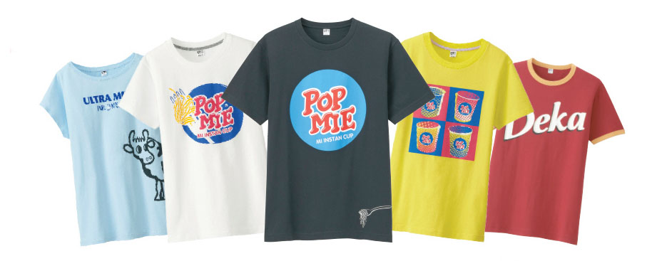Uniqlo UT - Pop Mie & Ultra Milk