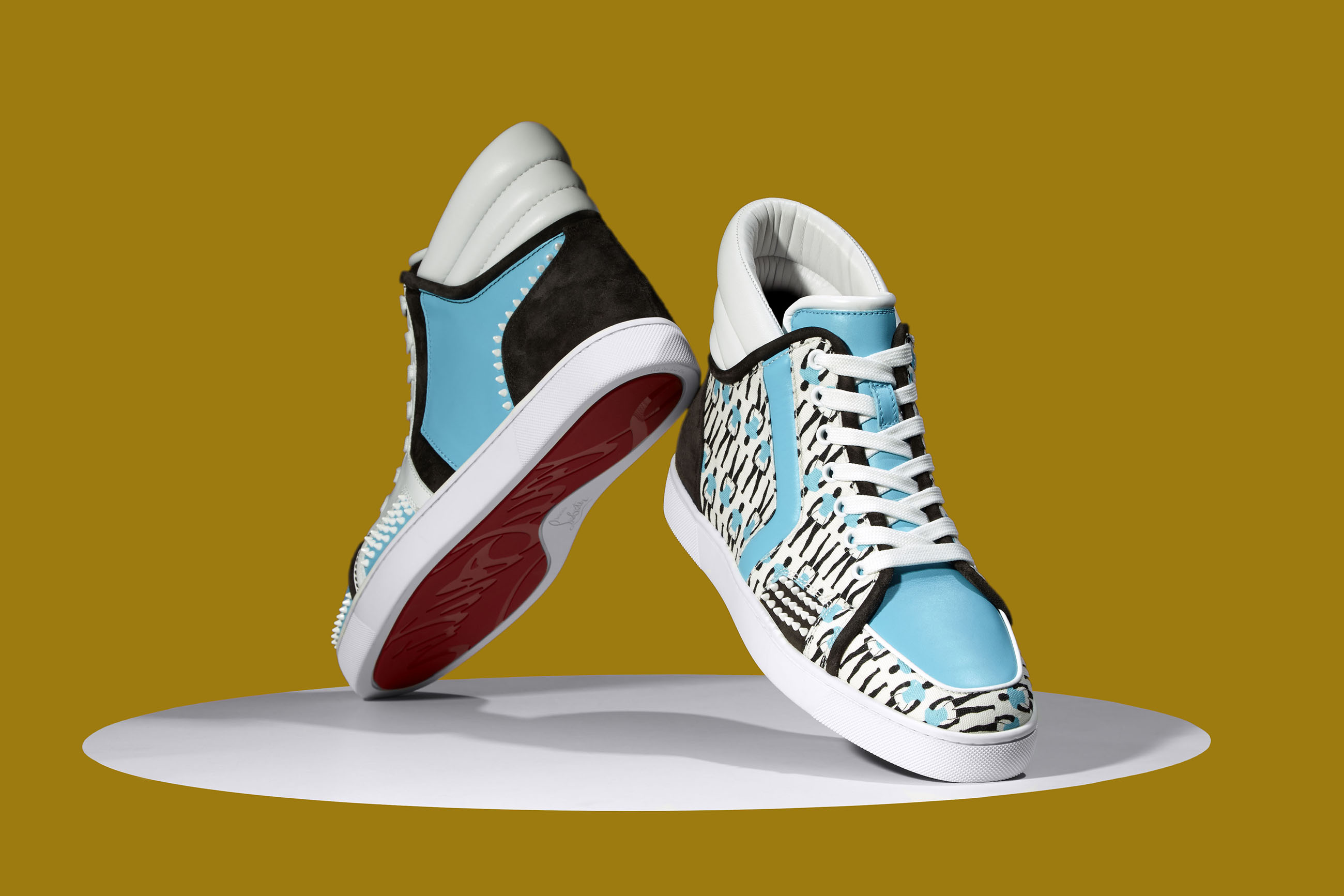 9cd42444c3b7 Christian Louboutin Launches Sneaker Capsule Collection for Sporty Henri