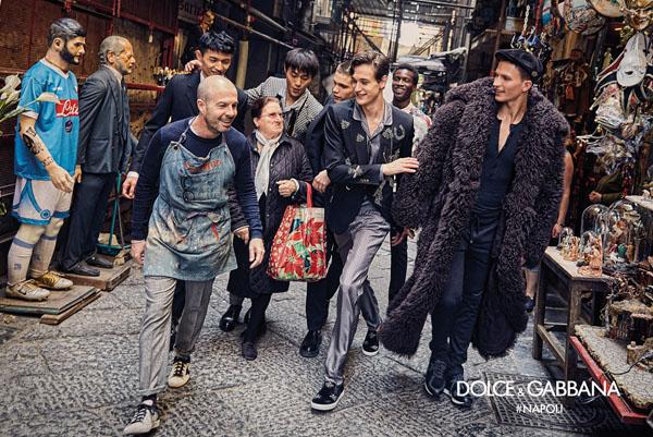 DA MAN Style FW 16's 15 Best FallWinter 2016 Men's Campaigns - Dolce & Gabbana small