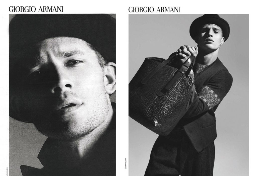 DA MAN Style FW 16's 15 Best FallWinter 2016 Men's Campaigns - Giorgio Armani